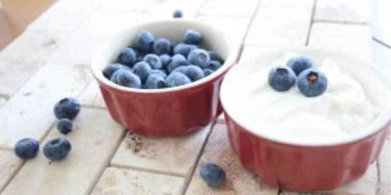 Yogurtandblueberries